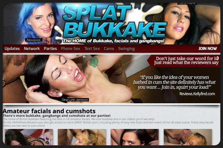 We love bukkake videos online
