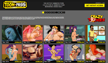 Good porn pay site for sexy adult comics.