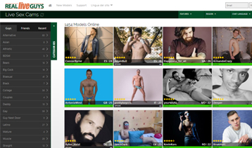 Excellent gay porn site if you are looking for live sex shows.
