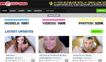 One of my favorite pay porn websites for POV blowjob videos.