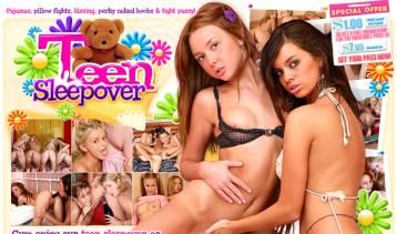 Top porn website with teen sleepover